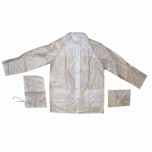 Transparent Pvc Rain Wear