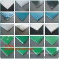 Green Or White Green Pvc Rough Top Pattern Pvc Conveyor Belt