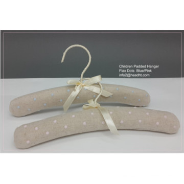 Made in China Satin enfants capitonné coton doux Hanger