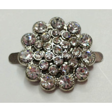 3mm Sparkly Shoe Flower Clips