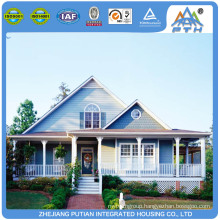 Free surrounded service light steel houses prefabricated villa