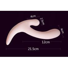 Producto del sexo de los vibradores de la silicona de la vagina para la mujer Injo-Zd027