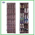 Крепкий висит над дверью обуви Организатор с 24 большие сетчатые карманы