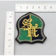 Haute qualité personnalisé Logo Patch tissé de gros tissu armée