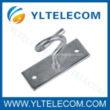 Fiber Cabling Metal Draw Hooks,FTTH C-hooks,C-Type Hook, Span Clamp