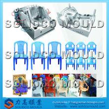2015 en plastique chaise de jardin moulage par injection en plein air meubles moule chaise