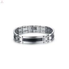 mais recente pulseira de aço inoxidável conectado, pulseira fina