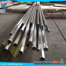 Barre hexagonale en acier inoxydable 304 à prix bon marché
