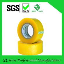 BOPP cintas adhesivas transparente transparente amarillento (KD-624)