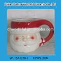Cutely Christmas ceramic cream jug with santa claus design