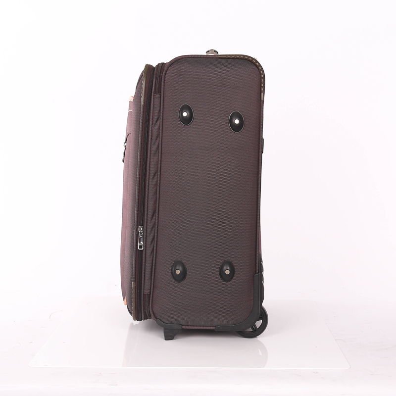 Fabric trolley luggage