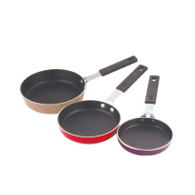 Amazon Vendor 3 PCS Nonstick beschichtete Aluminium Ei Pfannen Sets