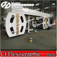 Máquina de impresión Jumbo Paper Flexo / Máquina de impresión de rollo más grande