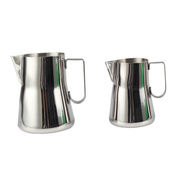 Neues Design Food GradeStainless Stahlmilchaufschäumer Pitcher