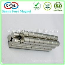 Magnet der seltenen Erde Zylinder 10 mm