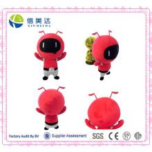 Dibujos animados rojo hormiga juguete chino juguetes de peluche