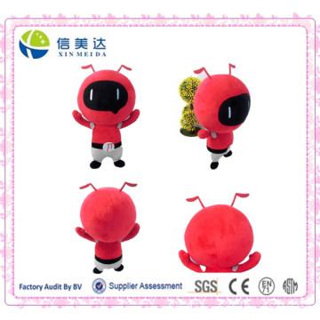 Мультфильм Красный Ant Мягкая игрушка Китайский Плюшевые игрушки