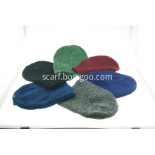 Acrylic Solid Colour Daily Beanie for Man