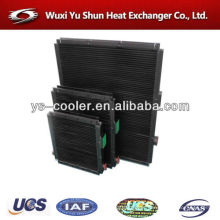 aluminum plate type oil cooler / plate type heat exchanger / plate type oil radiator