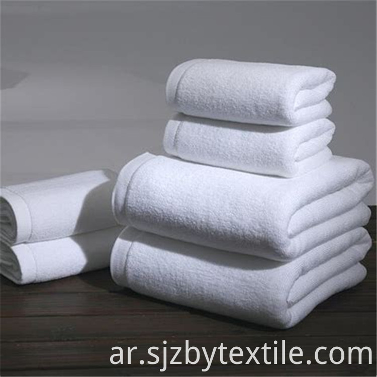 Custom Logo 100 Cotton Hotel Bath Towel