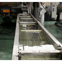 PP PE granulation single screw extruder machine Plastic wastage recycling granules making machine
