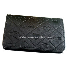 Logo personnalisé Business Gift Leather Name Card Holder
