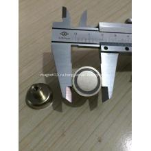 Поворотный магнит с крючком неодимовый