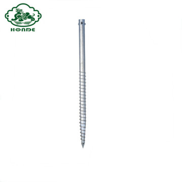 OEM Ground Screw Anchors Helical Piles En Venta