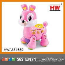 Забавная пластиковая игрушка для кроликов b / o для животных
