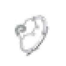 Милые девушки стерлингового серебра овец-образное отверстие кольцо