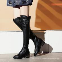кожаные ботинки женщин походные ботинки зимние снега водонепроницаемый обувь для девочек