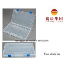 Caixas de armazenamento plásticas transparentes transparentes dos acessórios