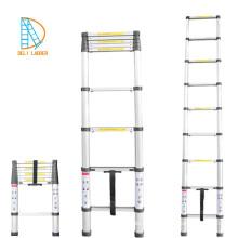 Aluminium-Teleskopleiter 8 Stufen 2,6 m mit EN131-6