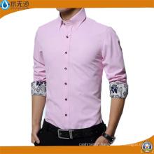 Factory Men Formal Shirt Dress Cotton Oxford Shirt