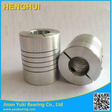 Acoplamiento de tornillo de bola Acoplamientos flexibles 6.35 a 12 mm Acoplamiento de eje de motor eléctrico