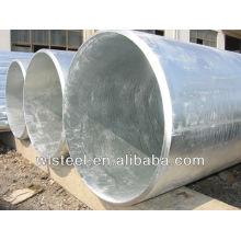 BS1387 best quality galvanized corrugated culvert pipe prices