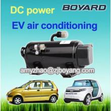 Hermético rotativo bldc carro elétrico ac compressor para refrigerador de ar portátil carro