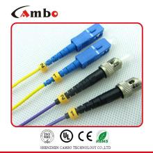 Single mode Duplex SC UPC / APC Cable de conexión de fibra UPC / APC LC en redes de telecomunicaciones