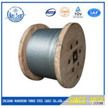 High Quality Steel Wire Stranded 7/0.7mm for Making Optical Cable
