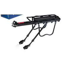 Universal 90kg Capacidade de carga máxima Bicycle Bike Rear Seat Luggage Rack Mountain Bike Acessórios de bicicleta