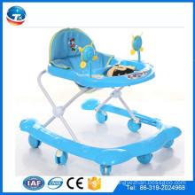 Neue blaue Europa-Plastikbabywanderer / runde Plastikkisa-Wanderer / Babyfördermaschine