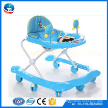 New blue Europe plastic baby walkers/round plastic kisa walkers/baby carrier