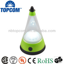 3 in 1 conical 12 led camping lantern