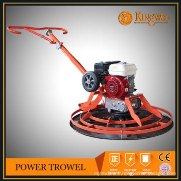 machine de truelle d'énergie concrète utilisée