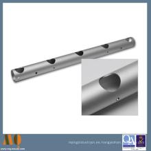 OEM para piezas de aluminio con buena calidad y alta precisión