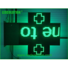P20 Einzelnes grünes LED-Kreuzzeichen