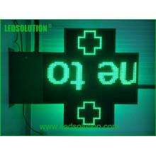 P20 Single Green LED Cross Sign