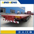 Factory Direct Selling Price 2 Axles 3 Axles Flatbed Semi Trailer
