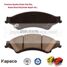 Kapaco Brake replacement / brake pad cost 8905-D1676 for Mazda BT-50 2012