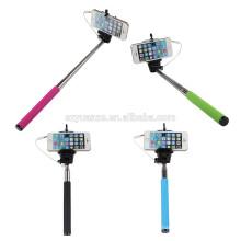 2015 hot selfie монопольная ручка с дистанционным шторкой selfie-stick